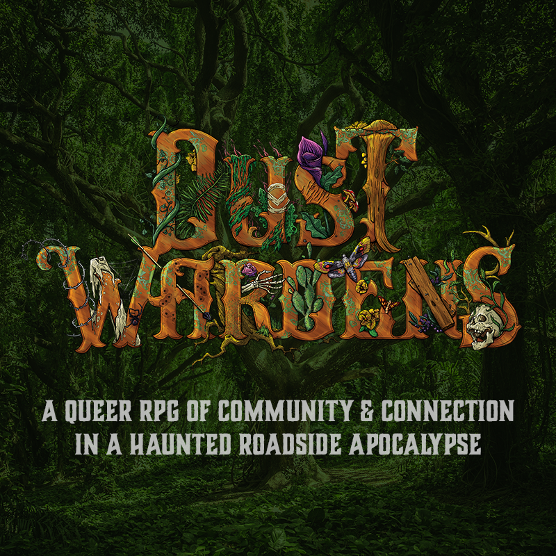 dust wardens final illustrated logo